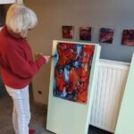 Marleen Keunen Eerste specialisatie, schilderkunst.